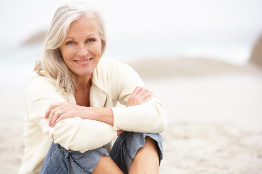 Una dieta adecuada puede paliar algunas de las molestias de la menopausia.