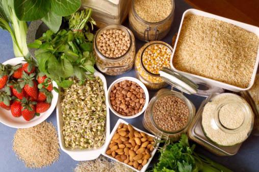 Fuentes de proteína vegetal.